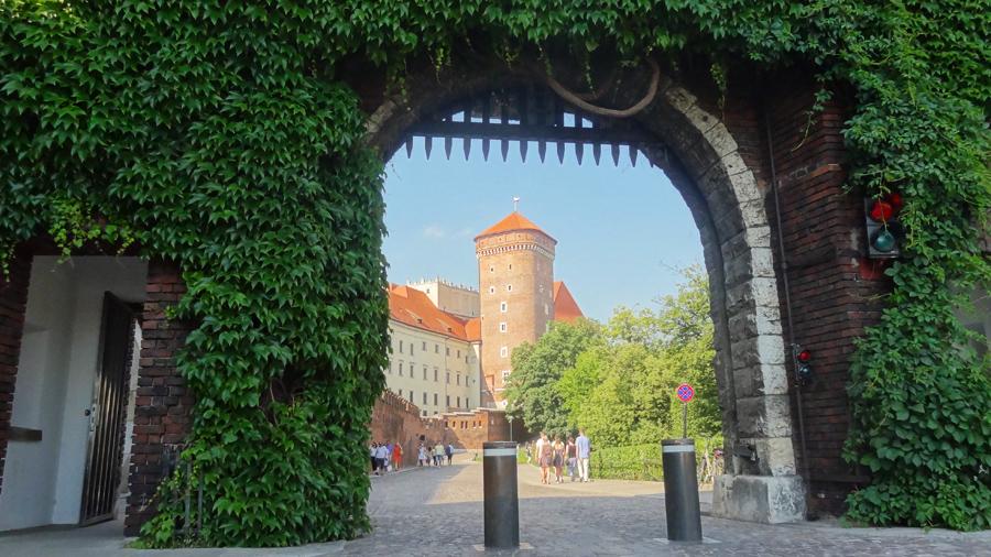 Wawel-kasteel in Krakau