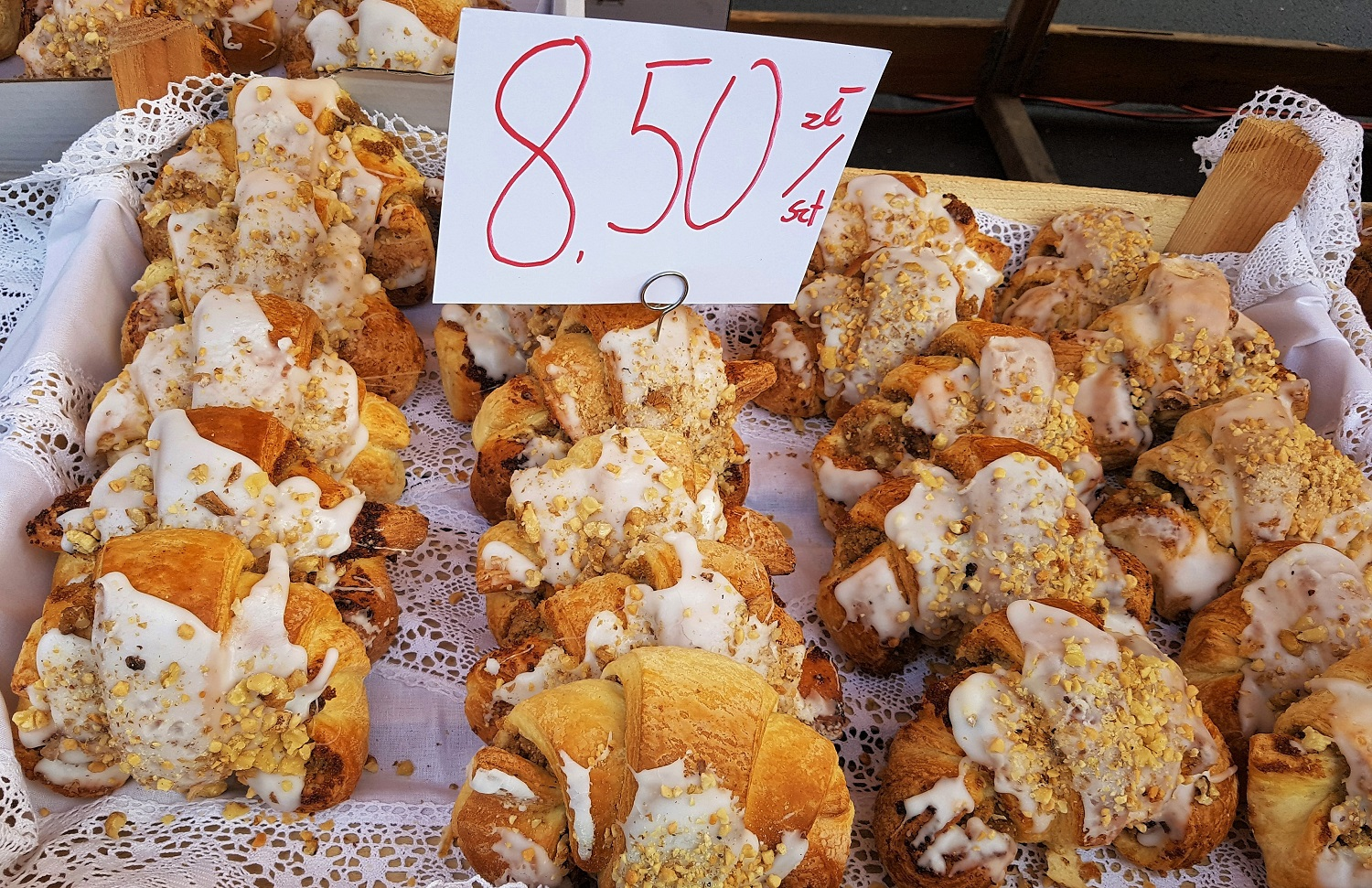 croissants in Poznan