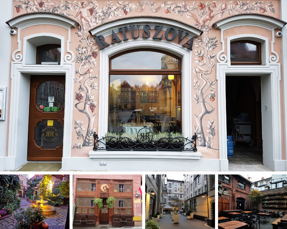 restaurants en cafes in poznan polen