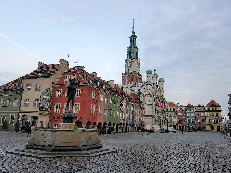 Plein in Poznan Stary Rynek