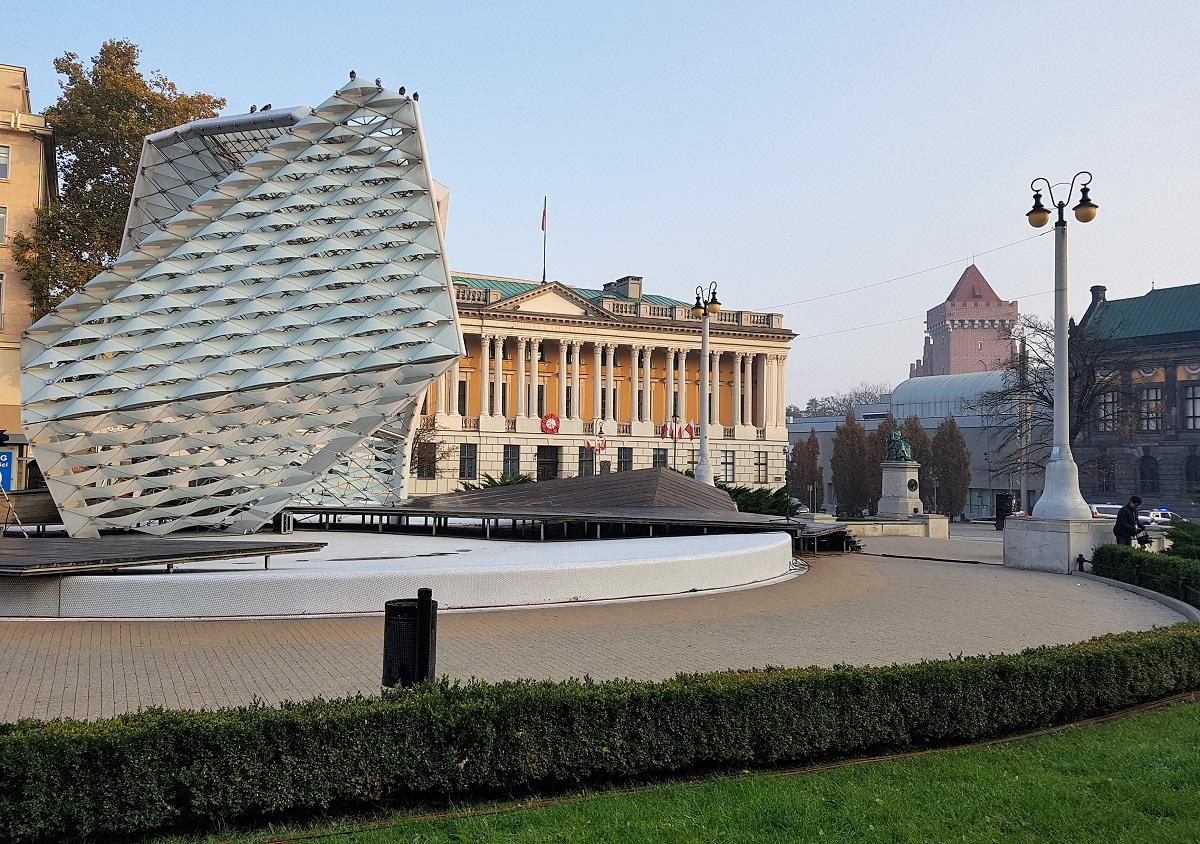 Vrijheidsplein in Poznan Polen